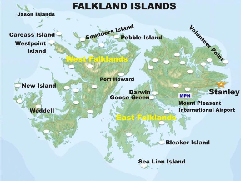 FALKLAND ISLANDS MAPjpg - Falkland islands map